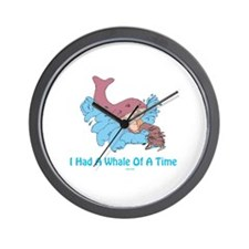 Whale of a Time Jonah Wall Clock