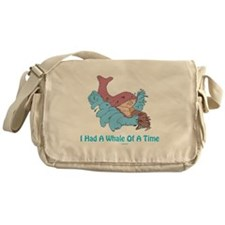 Whale of a Time Jonah Messenger Bag