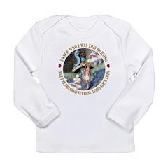 I Knew Who I Was Long Sleeve Infant T-Shirt