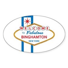 Welcome to Binghamton Decal