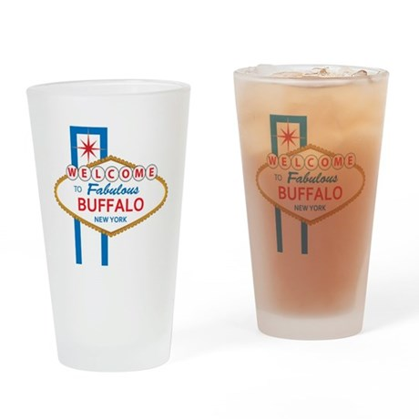 Welcome to Buffalo Drinking Glass