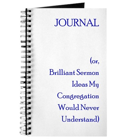 Journal or Sermon Thoughts