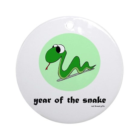 Year of the Snake (kids) Ornament (Round)