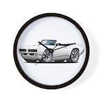 1968-69 GTO White Convert Wall Clock