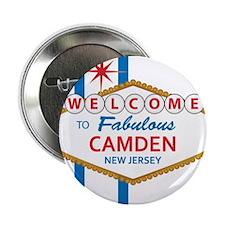 """Welcome to Camden 2.25"""" Button"""