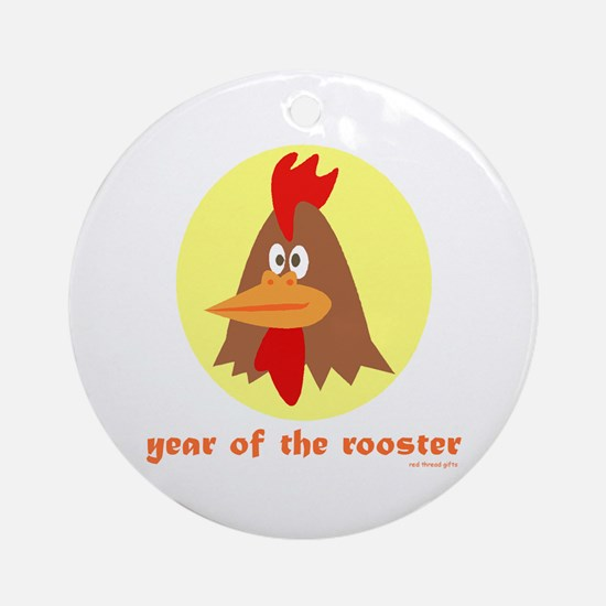 Year of the Rooster (kids) Ornament (Round)