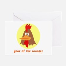 Year of the Rooster (kids) Greeting Cards