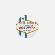 Welcome to Hollywood Mini Button