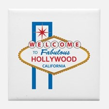 Welcome to Hollywood Tile Coaster