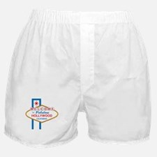 Welcome to Hollywood Boxer Shorts