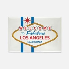 Welcome to Los Angeles Rectangle Magnet