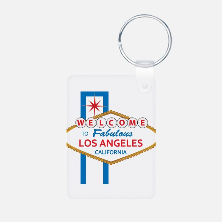 Welcome to Los Angeles Keychains