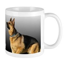 I heart My Pappy GSD Mug