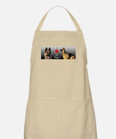I heart My Pappy GSD BBQ Apron