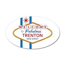 Welcome to Trenton 22x14 Oval Wall Peel