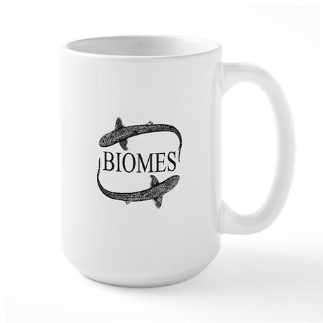 Biomes Large Mug