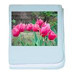 Tulips baby blanket
