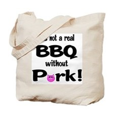 BBQ Requires Pork Tote Bag