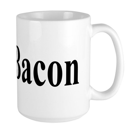 I Love Bacon Large Mug