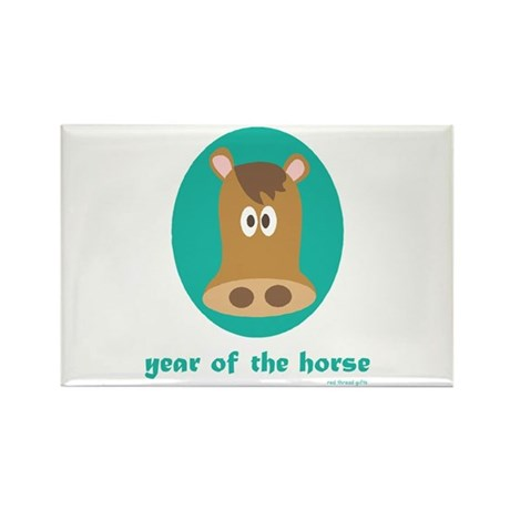Year of the Horse (kids) Rectangle Magnet