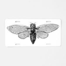 Cicada Aluminum License Plate