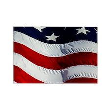 WAVING, USA FLAG, Rectangle Magnet