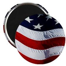 WAVING, USA FLAG, Magnet