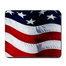 WAVING, USA FLAG, Mousepad