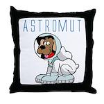 Astromut Sr.'s Throw Pillow