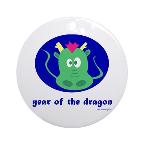 Year of the Dragon (kids) Ornament (Round)