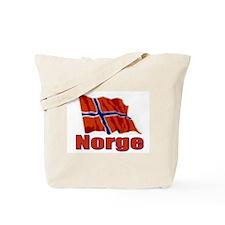 Norge Flag 1 Tote Bag
