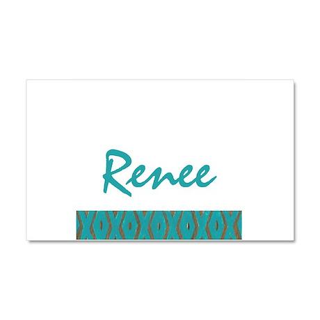 Renee - Car Magnet 20 x 12