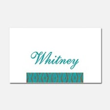 Whitney - Car Magnet 20 x 12