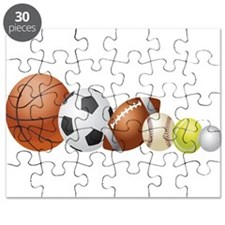 Balls of Sports - Puzzle