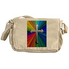 Chrome Cross on Prism - Messenger Bag