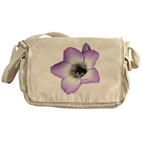Purple Flower - Messenger Bag