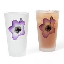 Purple Flower - Drinking Glass