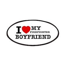 I love my Firefighter Boyfriend Patches