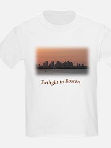 Twilight in Boston Kids T-Shirt