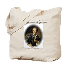 Diderot-God of the Christians Tote Bag