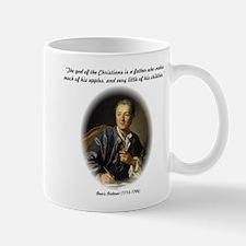 Diderot-God of the Christians Mug