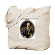 Diderot-Things Under Control Tote Bag