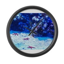 Starfish Large Wall Clock