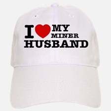 I love my Miner Husband Baseball Baseball Cap