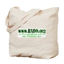 Glitchy RAINN Tote Bag