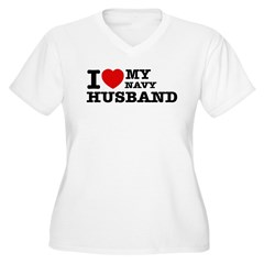 I love my Navy Husband T-Shirt