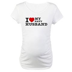 I love my Navy Husband Shirt