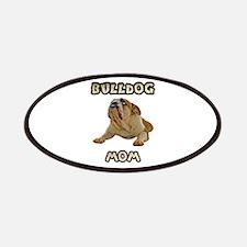 Bulldog Mom Patches