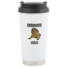 Bulldog Mom Travel Mug
