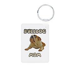 Bulldog Mom Keychains